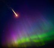 Comète en baisse images libres de droits