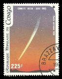 Comète Ikeya-Seki photo libre de droits
