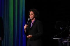 Comédien Dana Goldberg au dîner de lien noir 2016 photographie stock