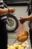 Comércio da rua Fotografia de Stock