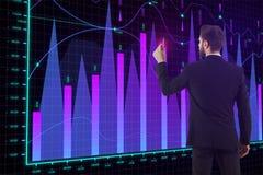 Comércio do corretor e conceito do investimento Imagens de Stock Royalty Free