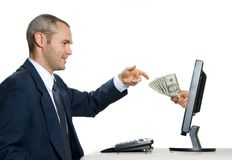 Comércio electrónico Imagem de Stock Royalty Free