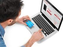 Comércio electrónico Imagens de Stock