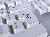 Comércio electrónico Fotografia de Stock