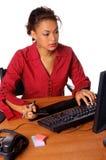 Comércio electrónico do escritório Fotografia de Stock