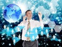Comércio eletrónico Fotografia de Stock Royalty Free