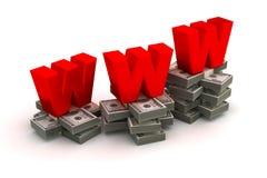 Comércio eletrônico Fotos de Stock