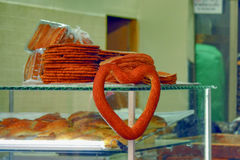 Comércio no pão fresco Imagens de Stock Royalty Free