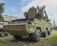 9A33- COM antiaérienne de missile de véhicule de combat (missiles 9M33) Photo stock