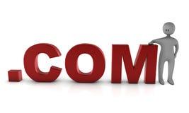 COM-Concepto Imagenes de archivo