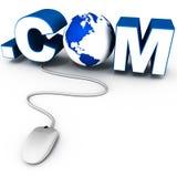 COM de point illustration stock