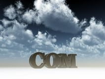 Com domain Royalty Free Stock Image