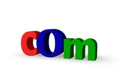 Com domain Royalty Free Stock Photo
