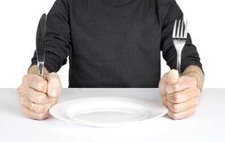 Com fome Imagens de Stock Royalty Free