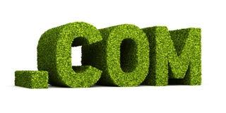Com leaf formaci ikona Zdjęcia Royalty Free