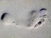 Com os pés descalços Imagem de Stock