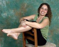 Com os pés descalços Foto de Stock Royalty Free