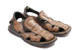 Com os pés descalços Fotos de Stock Royalty Free