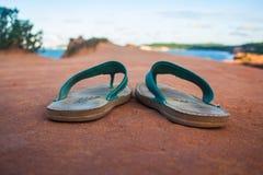 Com os pés descalços em Brasil Fotos de Stock Royalty Free