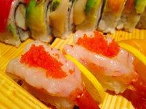 Com ovas do camarão Fotografia de Stock