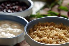 Com ruou, fermentujący glutinous ryż fotografia royalty free