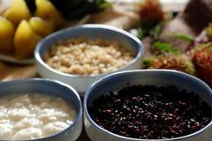 Com ruou, fermentujący glutinous ryż Obrazy Royalty Free