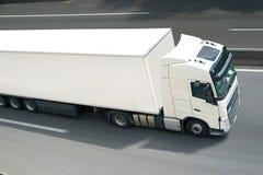 Com semi o caminhão fotografia de stock royalty free