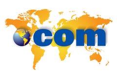 com sieć szeroki światowy Www Zdjęcia Stock