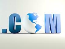 Com world Royalty Free Stock Image