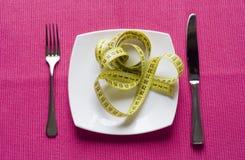 Coma el alimento healty Imagenes de archivo
