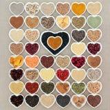 Coma el alimento sano Imagen de archivo libre de regalías
