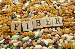 Coma mais fibra! Fotografia de Stock Royalty Free
