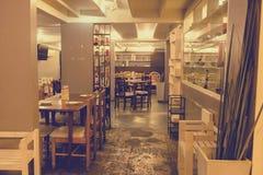 Coma o restaurante/café de Viet Vietnamese imagens de stock royalty free