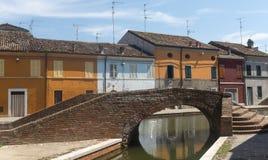 comacchio Италия Стоковое Фото