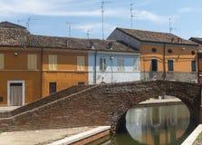 comacchio Италия Стоковые Изображения