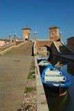 Comacchio. (Fe),Emilia romagna,Italy,the bridge of Trepponti,built in 1634 Royalty Free Stock Photo