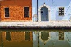 Comacchio Στοκ φωτογραφία με δικαίωμα ελεύθερης χρήσης