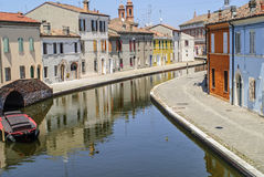 Comacchio Stock Photo