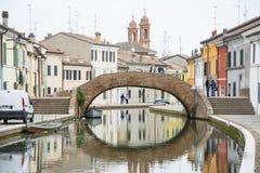 Comacchio Royalty Free Stock Photos