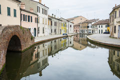 Comacchio Royalty Free Stock Photography