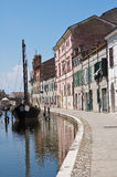 Comacchio. Emilia-Romagna. Italy. Royalty Free Stock Photo