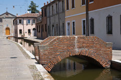Comacchio. Emilia-Romagna. Italy. Royalty Free Stock Photography