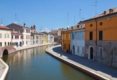 Comacchio. Emilia-Romagna. Italy. Stock Photography