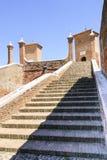 Comacchio - Famous bridge Stock Image