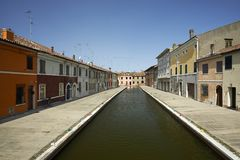Comacchio Royalty Free Stock Photo