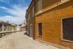 Comacchio (Italia) Immagini Stock