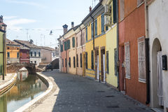 comacchio Italie Image stock
