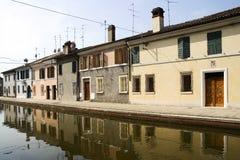 comacchio Italie Photo libre de droits
