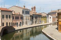 Comacchio (Italien) Lizenzfreie Stockbilder
