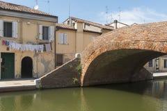 Comacchio (Italy) Stock Image